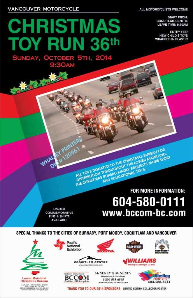 Vancouver Motorcycle Toy Run