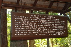 Redwood Park Prayer of the Woods