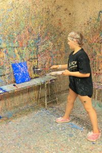 Kidoodles Art Studio Amy Splatter Painting