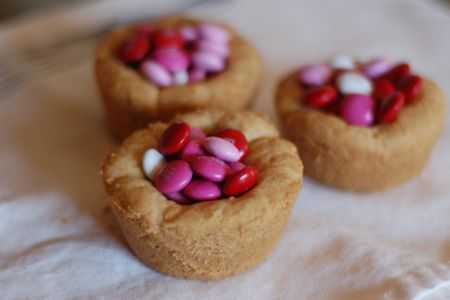 Women's Day Cookie cups