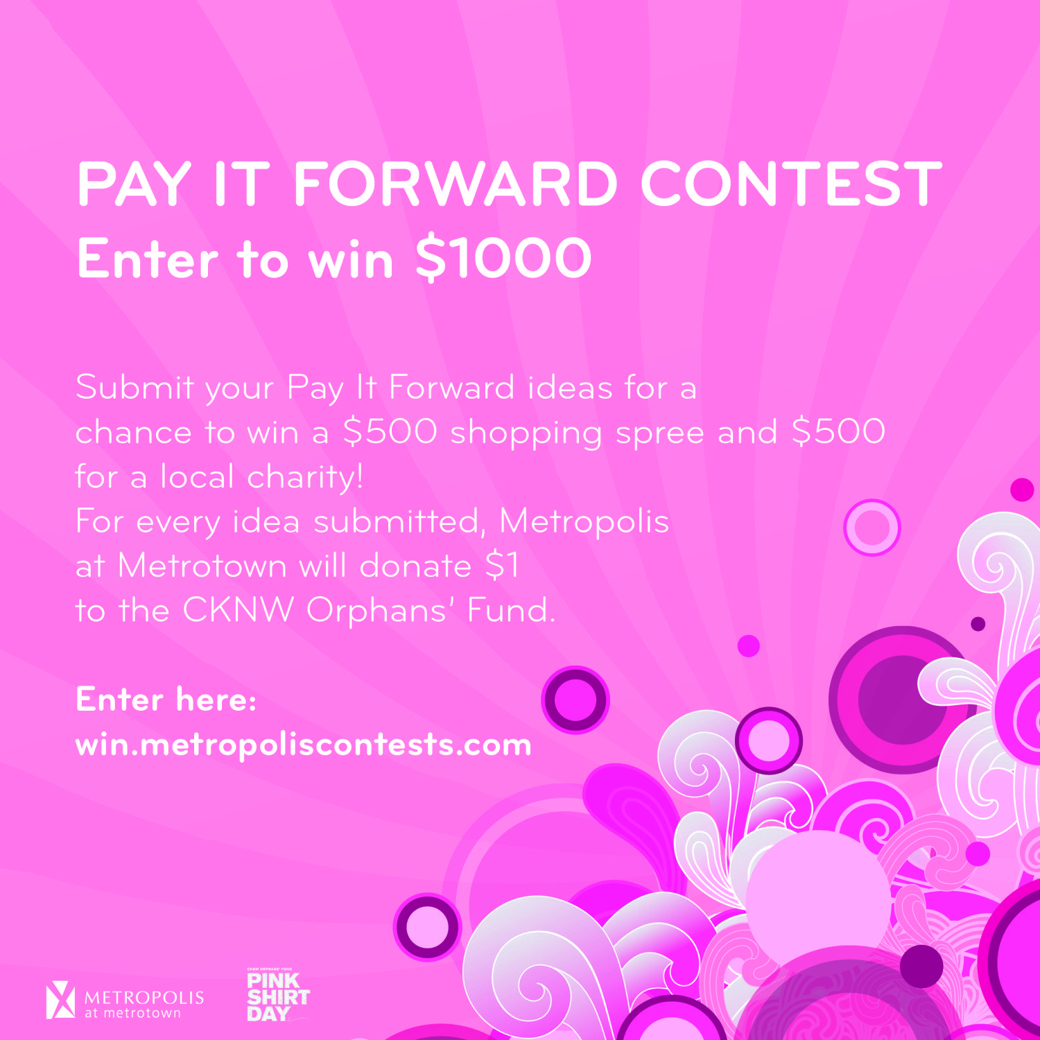 Pay it Forward contest