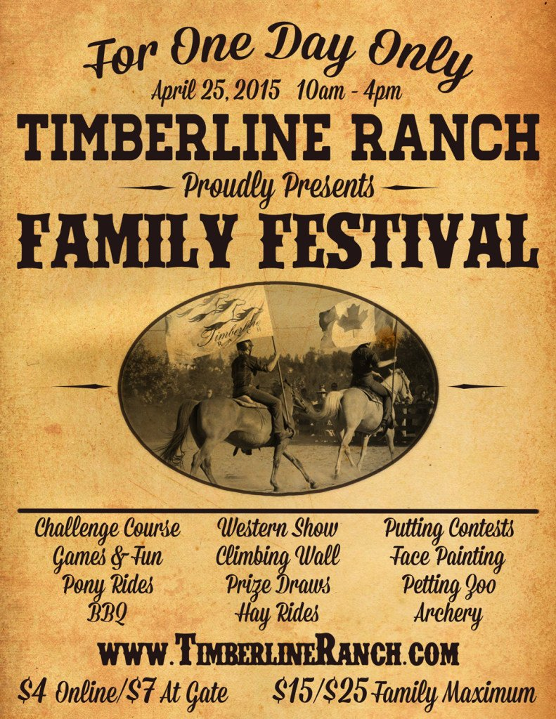 Timberline Ranch Family Festival
