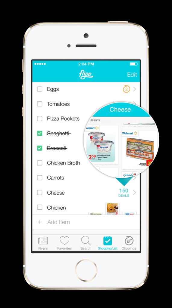 flipp-shoppinglist