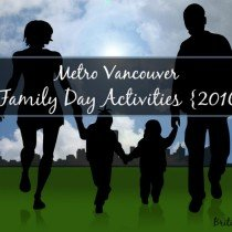 2016 Family Day Activities
