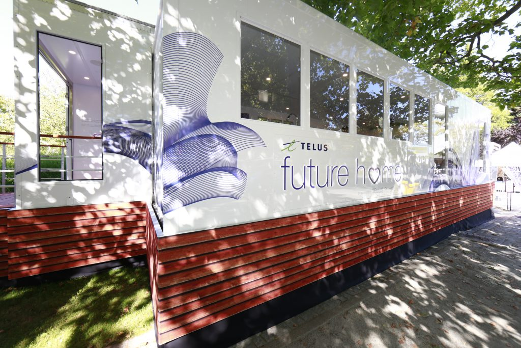 VANCOUVER, BC: AUGUST 18, 2016 - The Telus Future Home at the PNE August 18, 2016 in Vancouver, Canada. Photo by Jeff Vinnick/CNW