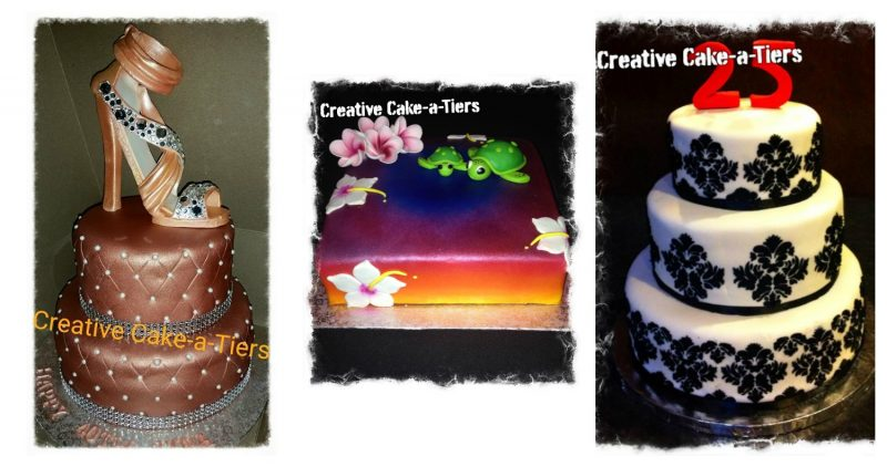 photo credit: Creative Cake-A-Tiers