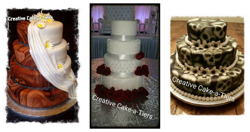 photo credit: Creative Cake-a-Tiers Wedding album