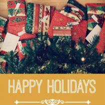 Merry Christmas & Happy Holidays from all of us!