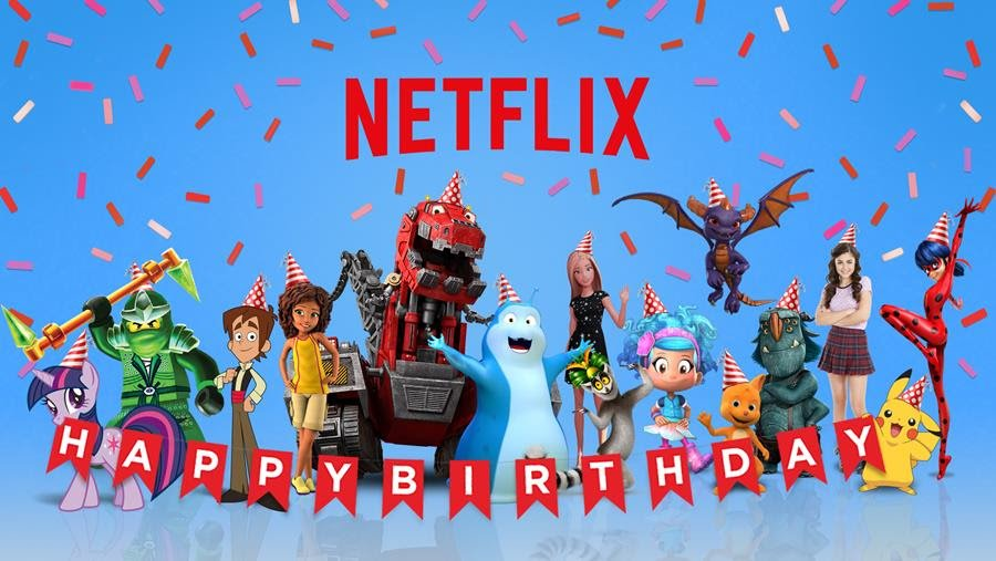Netflix Happy Birthday Party