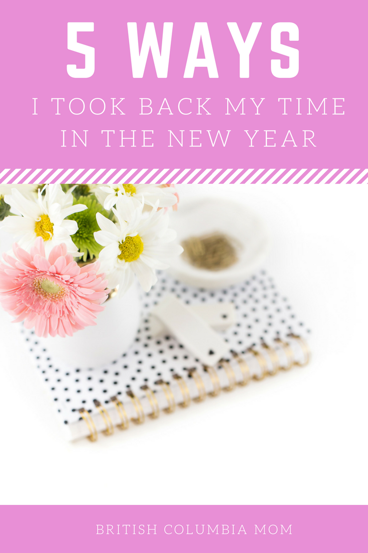 5 Ways I Took Back My Time In 2018 - from decluttering, organizing to making conscious choices. My time is mine again. #Lifestyle #Parenting #Minimalism #Clutter #Planners