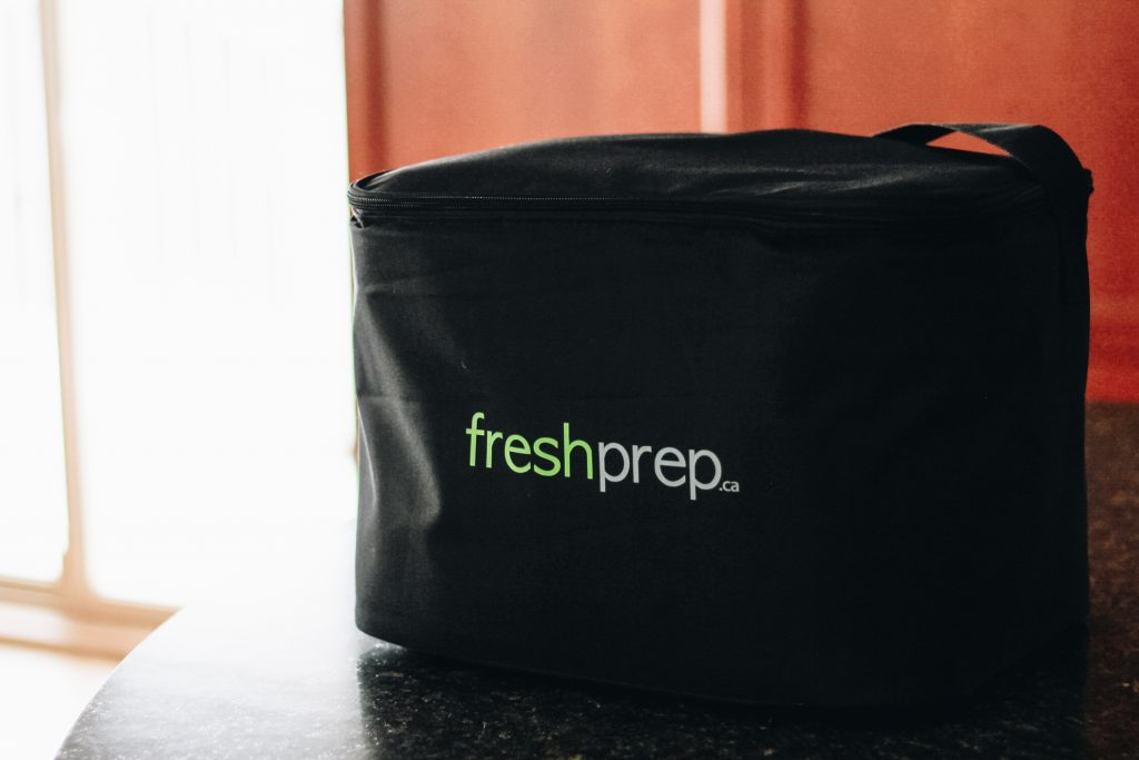 Fresh Prep Vancouver Delivery Bag