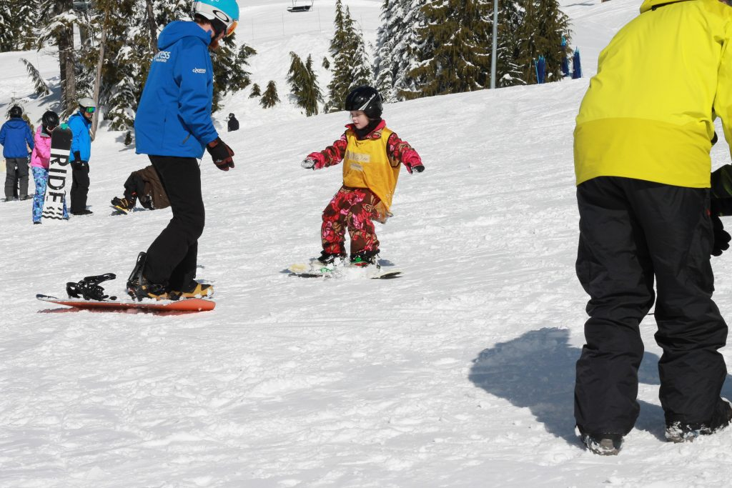 Cypress Snow School Snowboarding