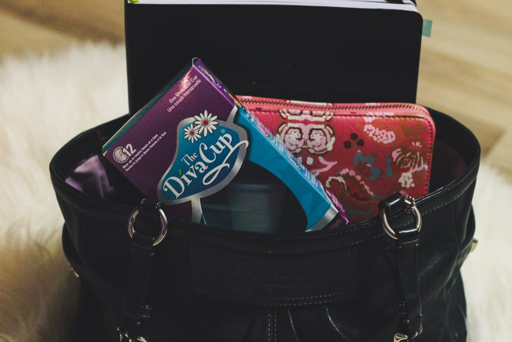 DivaCup Purse Essentials